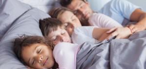 famille endormie
