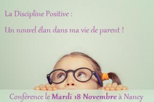 conference discipline positive nancy